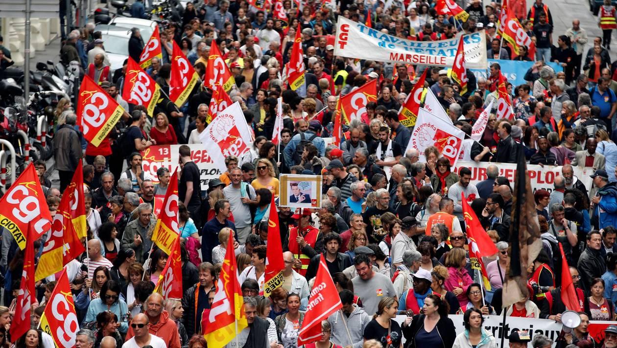 France : La fonction publique en grève