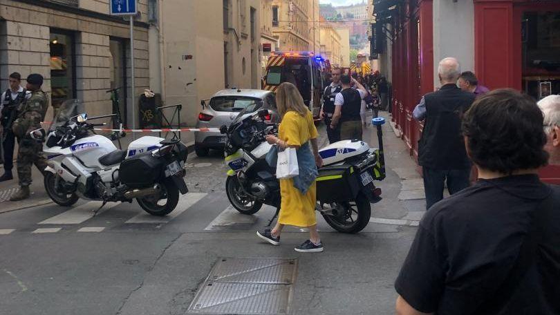 France: Explosion d'un colis piégé à Lyon