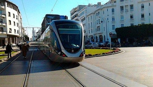 Deux nouvelles rames pour le tramway Rabat-Salé