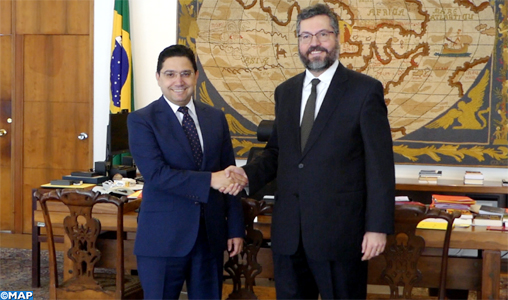 Le Maroc et le Brésil musclent leur coopération