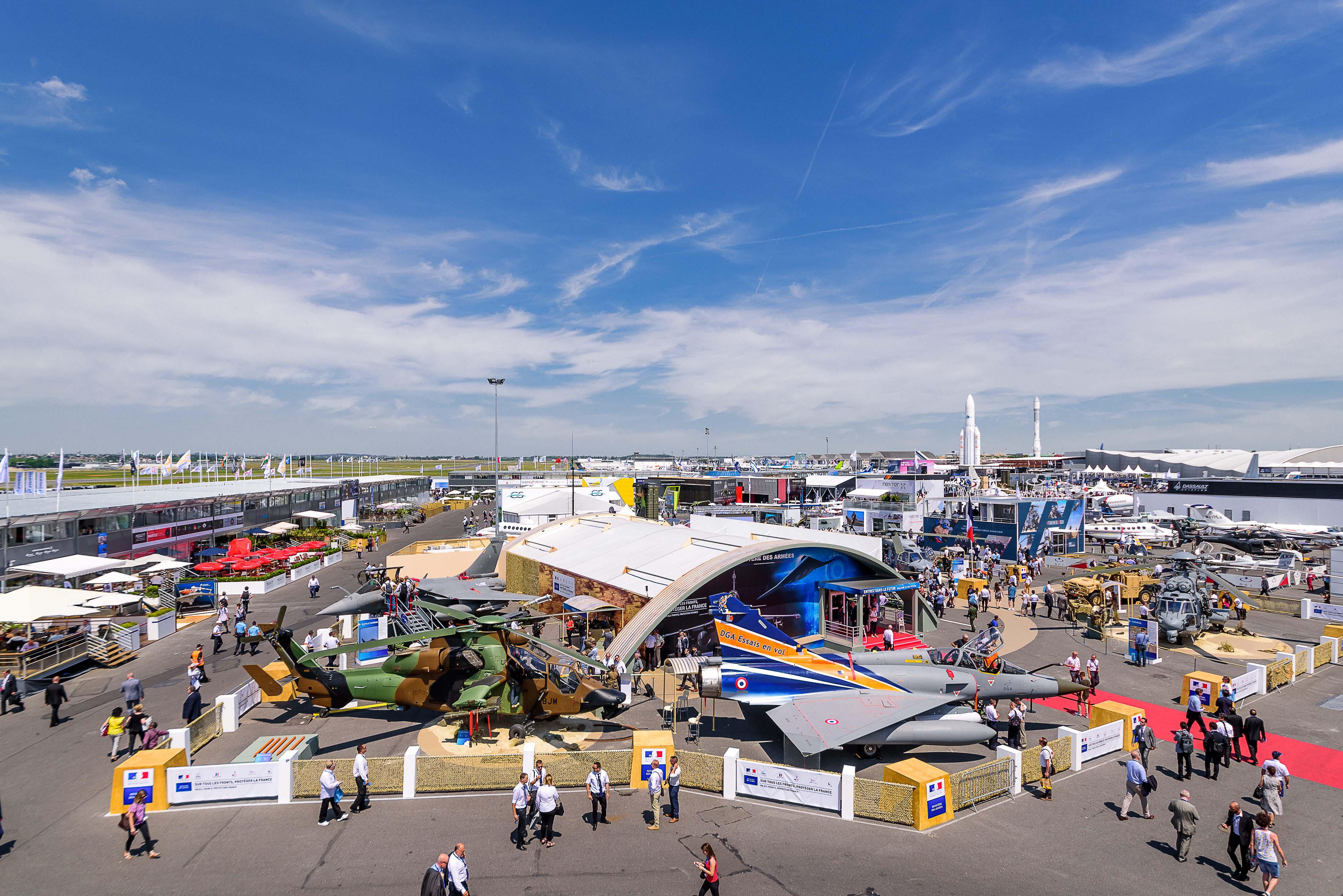 Aéronautique: Le Maroc vend ses atouts au Salon du Bourget