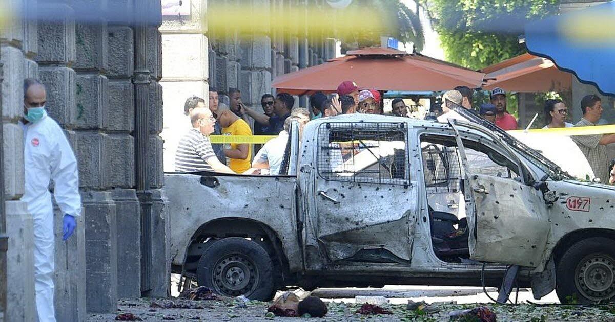 Double attentat terroriste au centre de Tunis