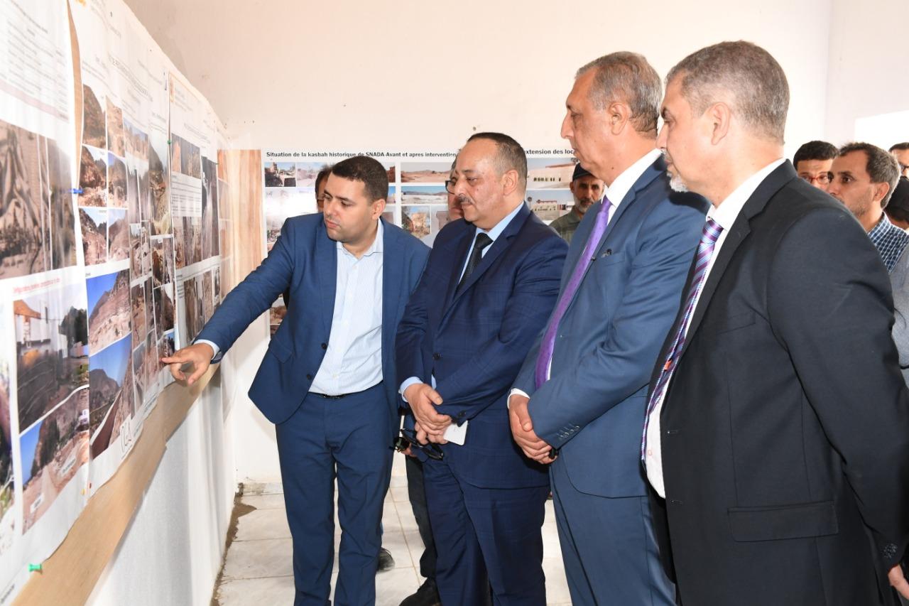 Mohamed Laaraj prospecte les chantiers lancés à Al Hoceima