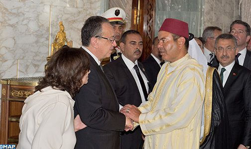 Le Prince Moulay Rachid représente le Roi aux funérailles du président Béji Caïd Essebsi