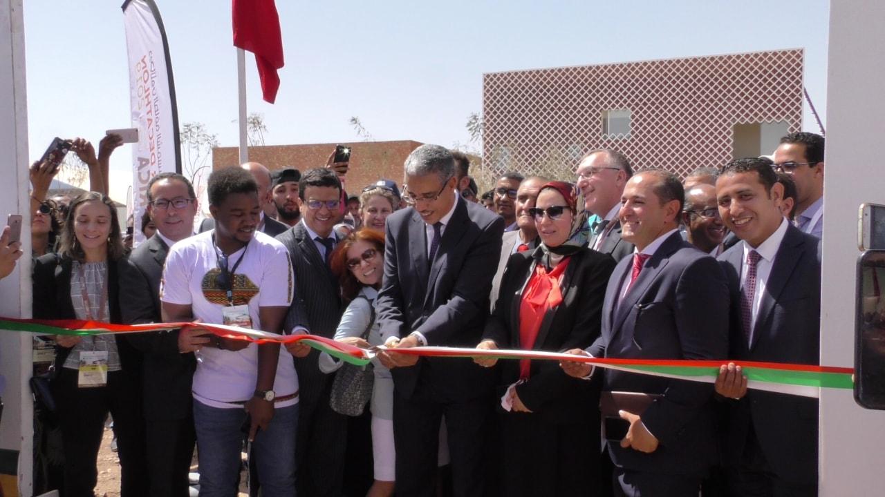 Benguerir: Inauguration du Village solaire du Solar Decathlon Africa
