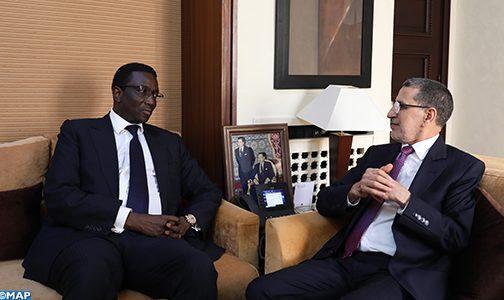 El Otmani reçoit le ministre sénégalais des Affaires étrangères