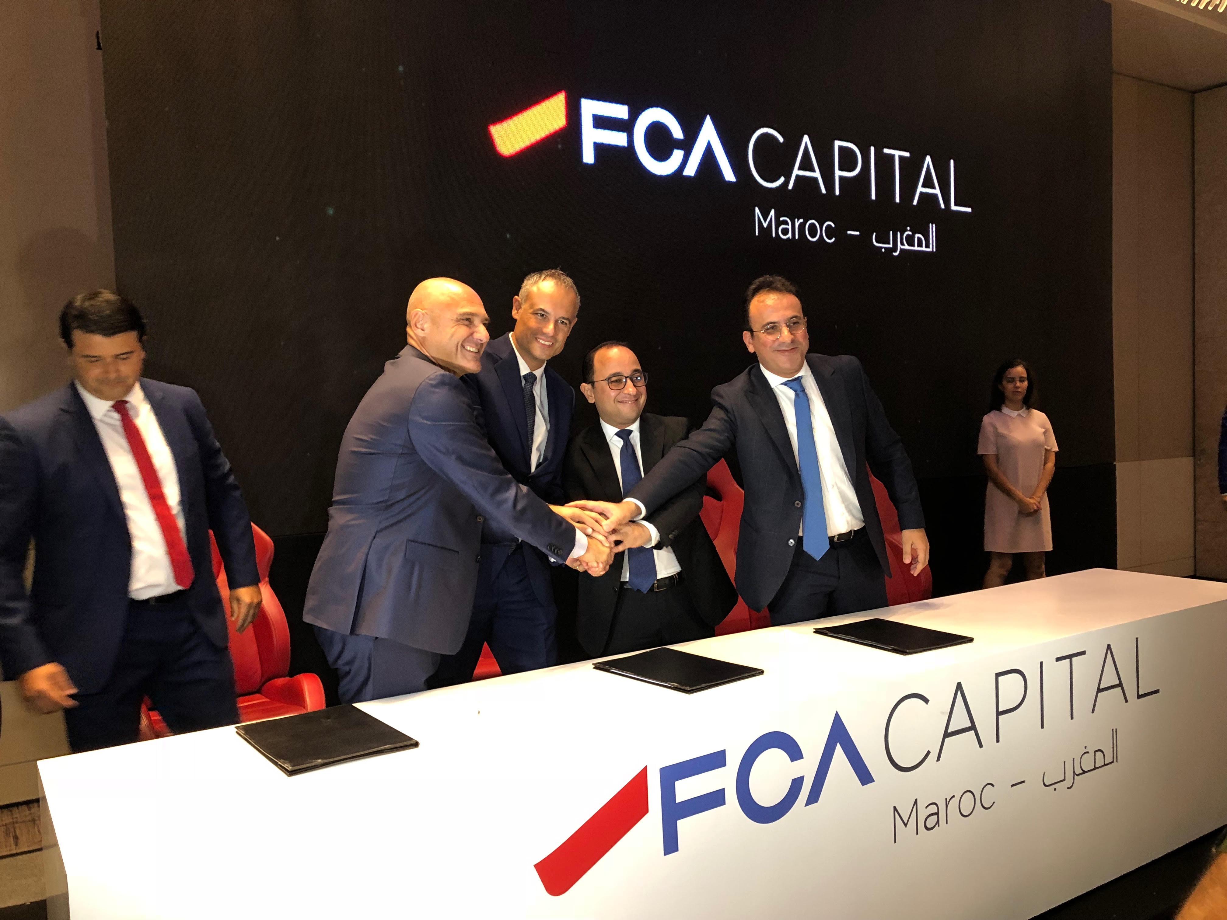Financement automobile: Wafasalaf s'allie à Fiat Chrysler Automobiles