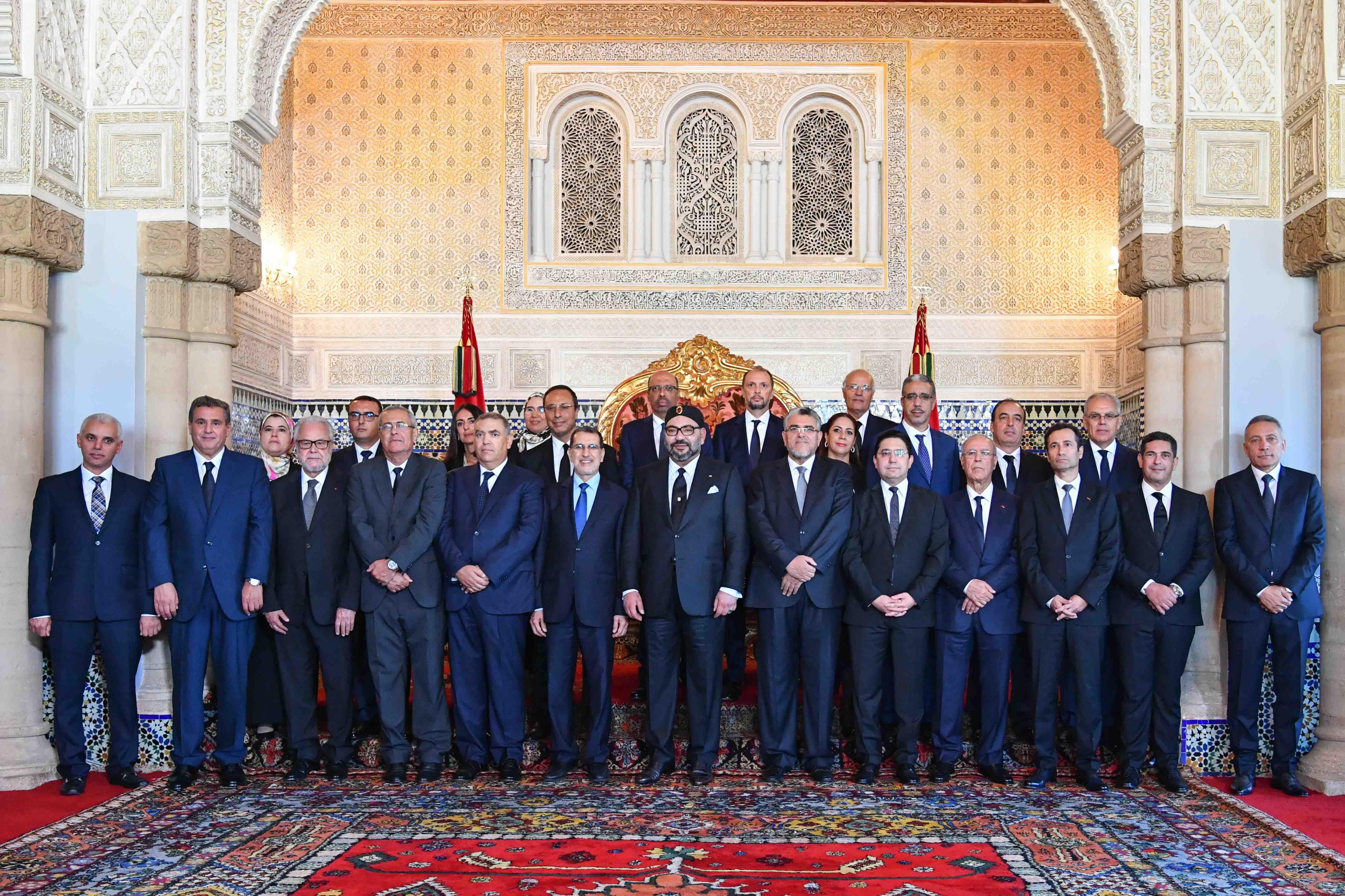 Voici la liste des membres du nouveau gouvernement El Otmani