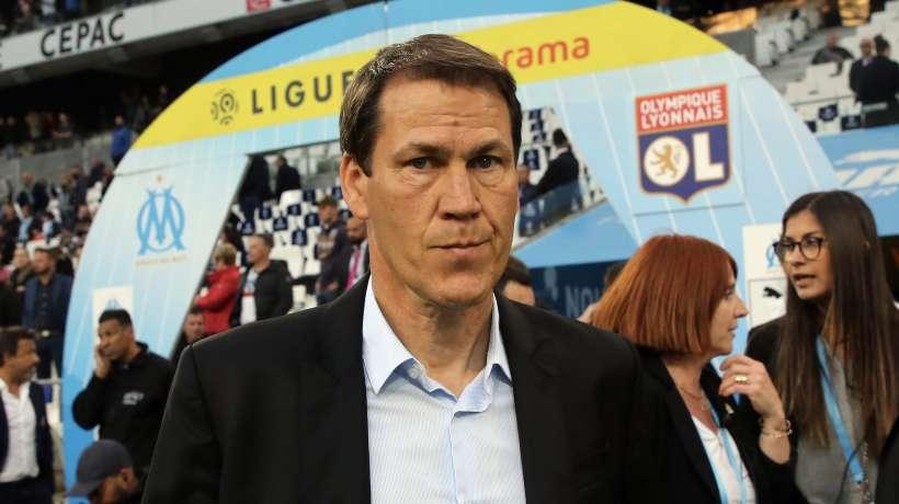 Football : L'entraîneur Rudi Garcia à l'Olympique lyonnais
