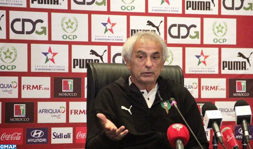 Pour Halilhodzic, l'équipe nationale est en phase de grande reconstruction