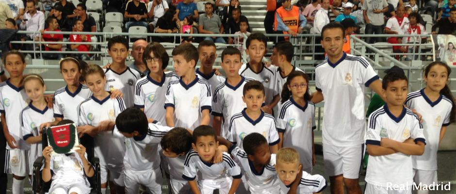 Le Real Madrid va multiplier ses écoles socio-sportives au Maroc