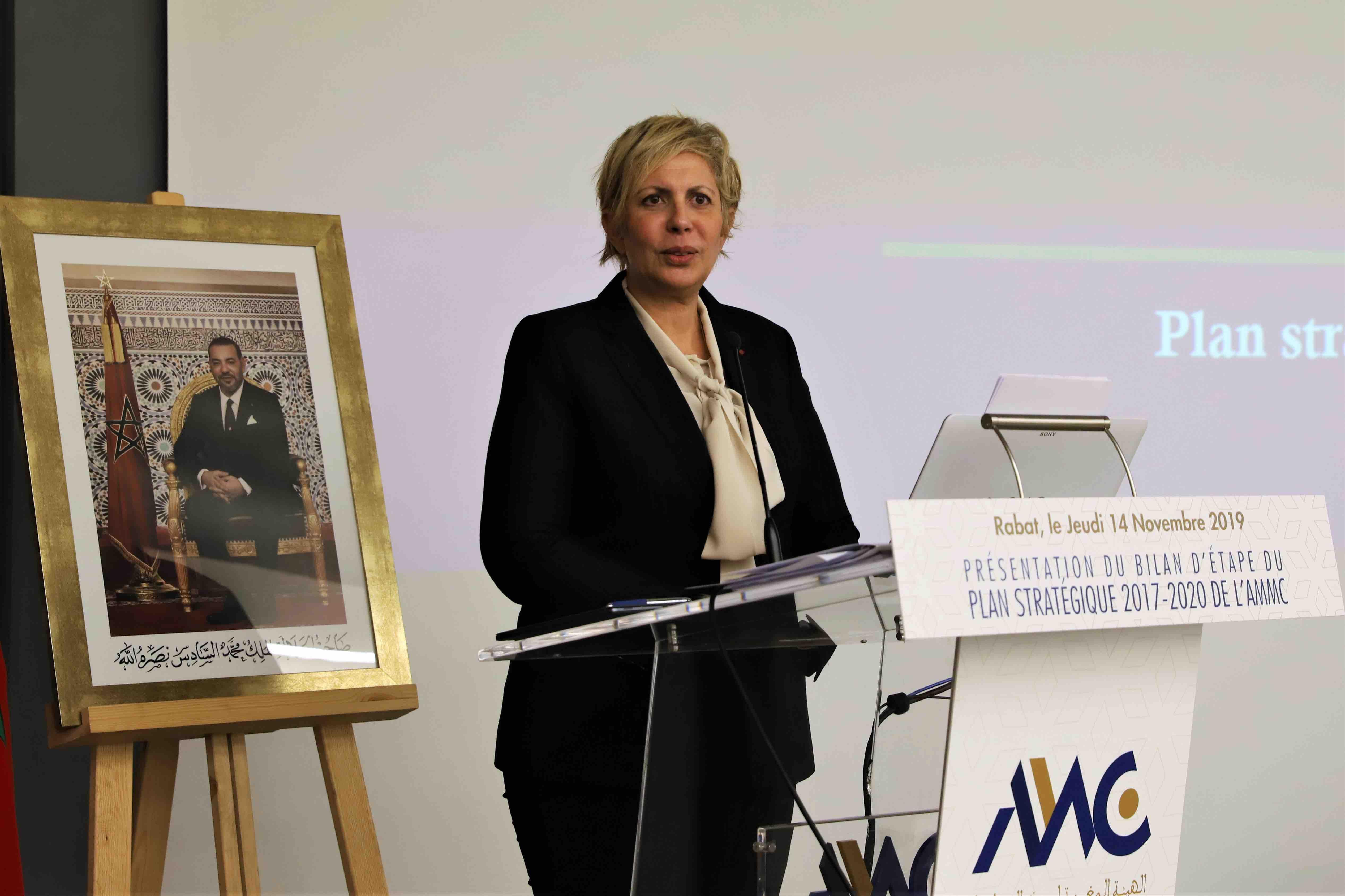 L'AMMC dévoile le bilan d'étape de son plan stratégique 2017-2020