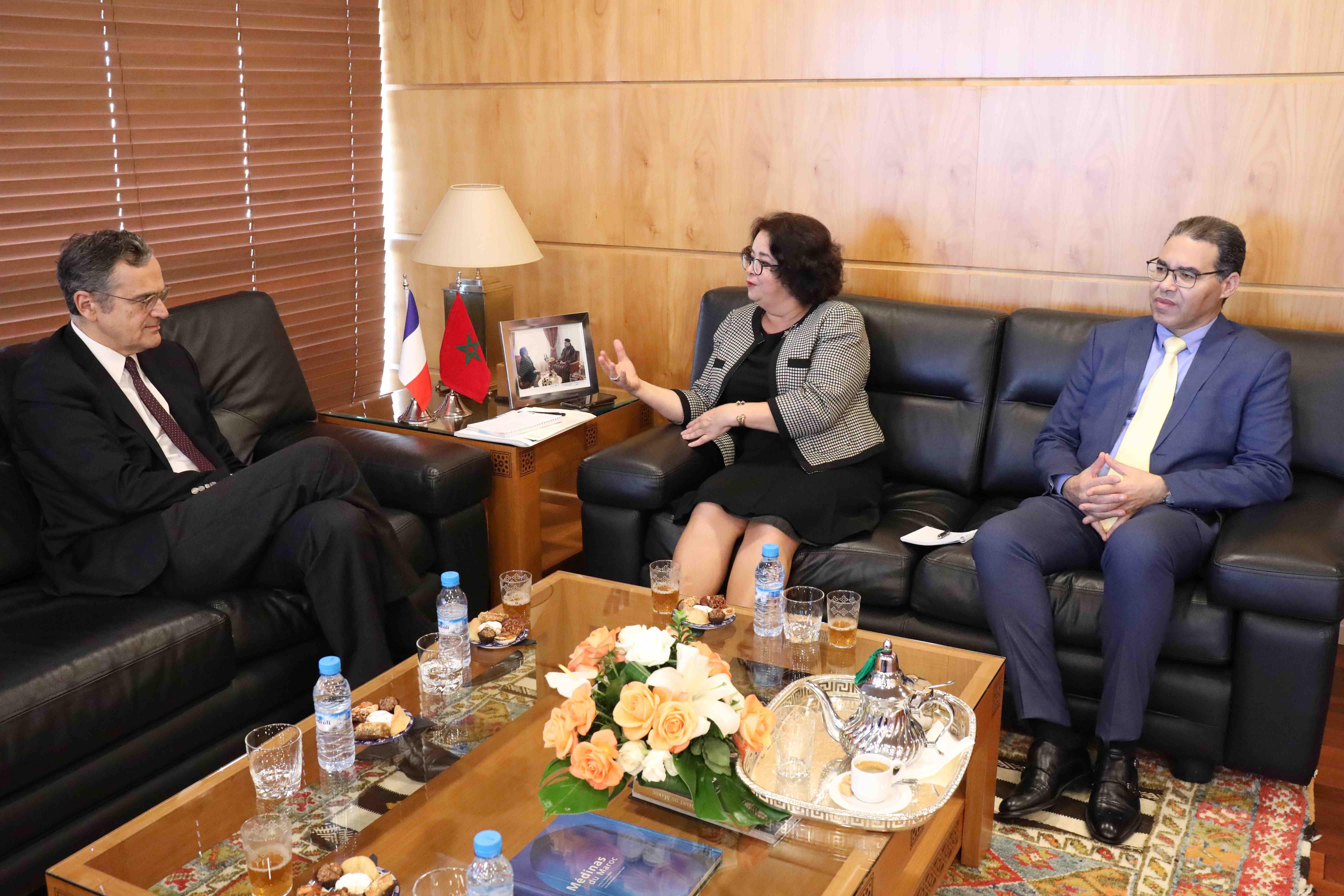 La HACA reçoit le président du CSA français