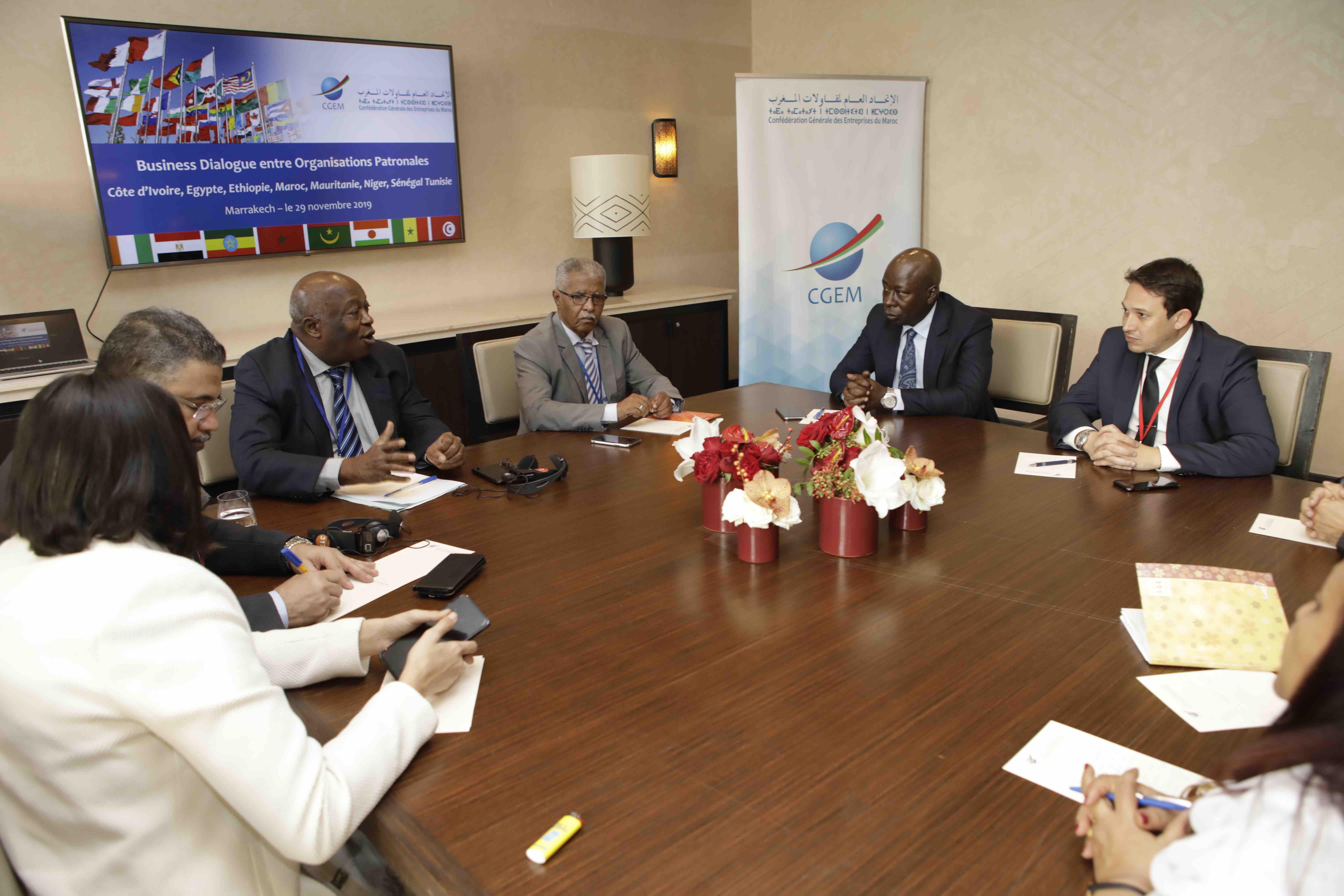 Naissance à Marrakech de la Coalition Business Afrique