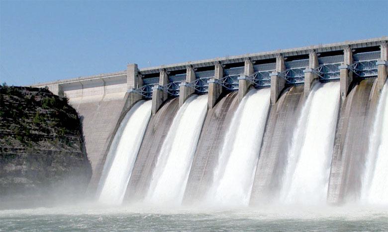 Forte chute du taux de remplissage des barrages