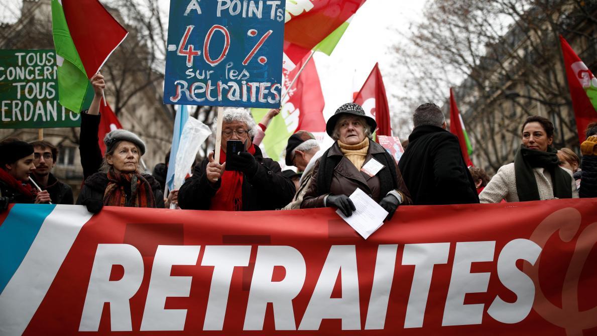 Réforme des retraites: La France dans la rue
