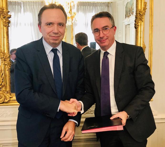 Retraite: Echange d'expertise entre la CDG et son homologue français