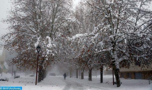 Chutes de neige, pluie et rafales de vent lundi et mardi au Maroc