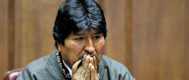 La Bolivie émet un mandat d'arrêt contre l'ex-président Evo Morales