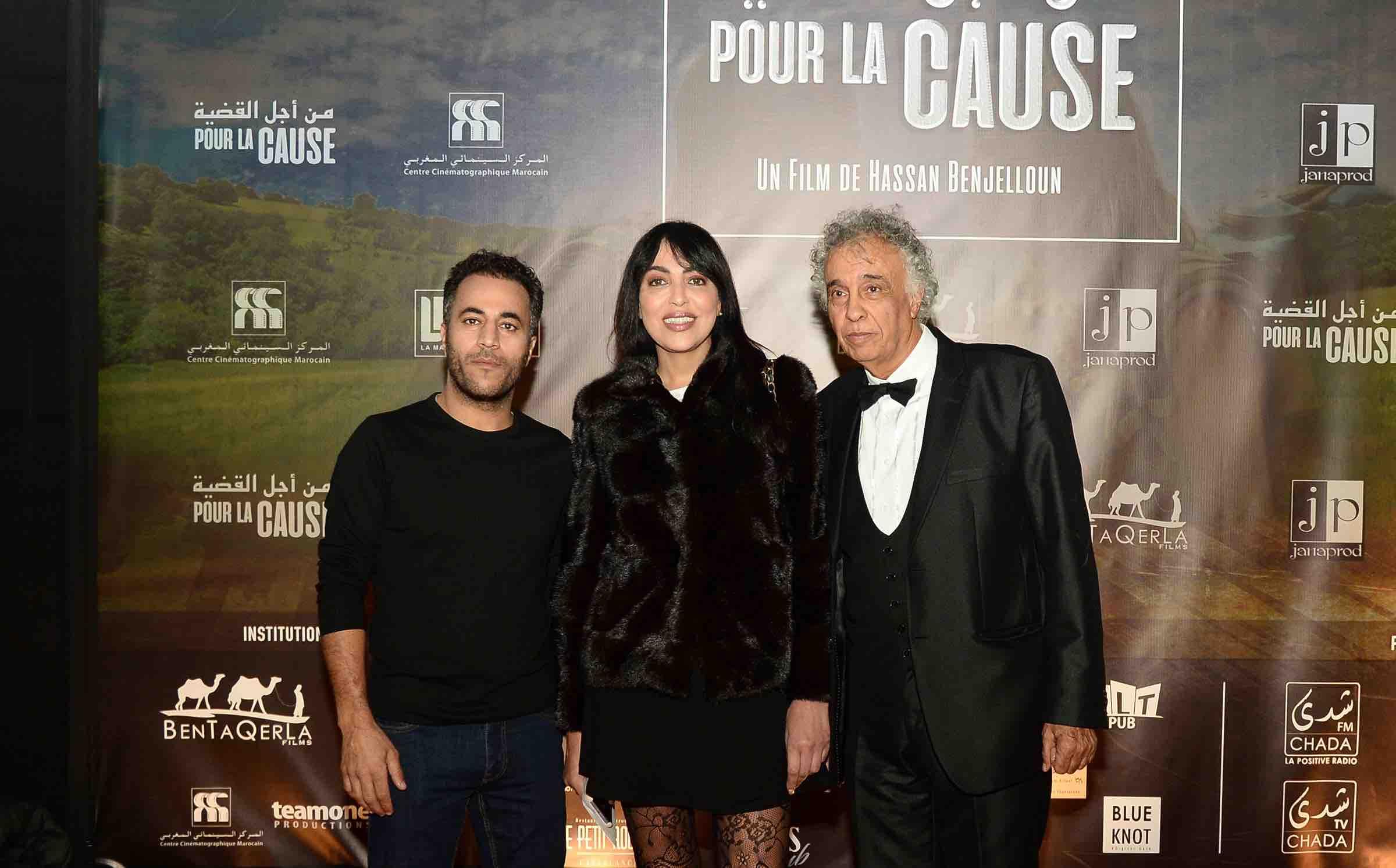 """Casablanca : A la découverte de """"Pour la cause"""", de Hassan Benjelloun"""