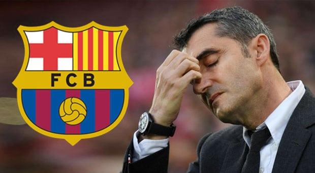 FC Barcelone : Ernesto Valverde viré