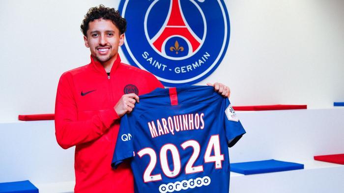 PSG : Marquinhos rempile jusqu'en 2024