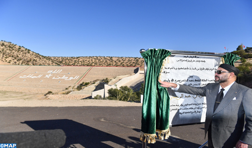 Le Roi inaugure plusieurs projets hydro-agricoles à Essaouira