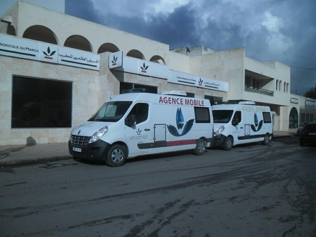 Coronavirus: Le Crédit Agricole du Maroc mobilise ses agences mobiles pour distribuer les aides de l'Etat
