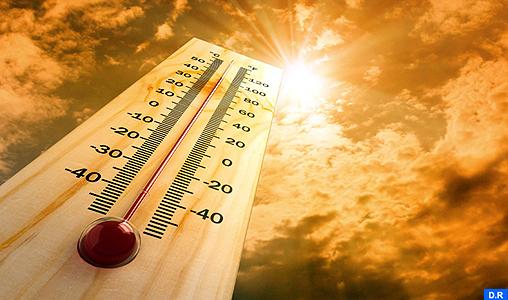 Temps chaud en perspective au Maroc