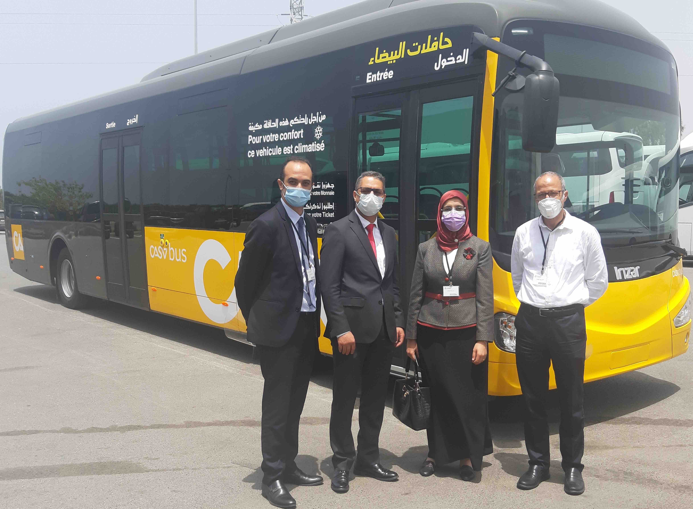 Transport public: Le prototype «Casabus» dévoilé