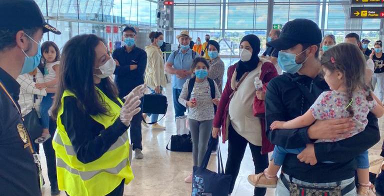 Covid-19 Maroc : Rapatriement de 318 Marocains bloqués en Espagne