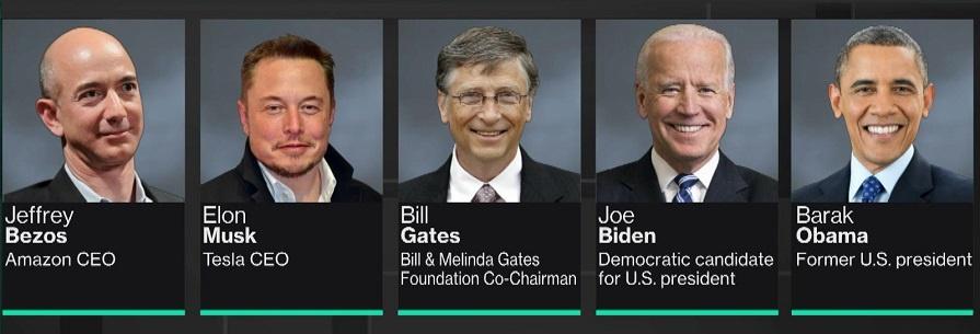 Twitter: Les comptes d'Obama, Bill Gates et Jeff Bezos victimes de piratage massif