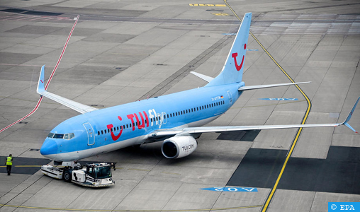 TUI fly va opérer prochainement des vols spéciaux entre la Belgique et le Maroc