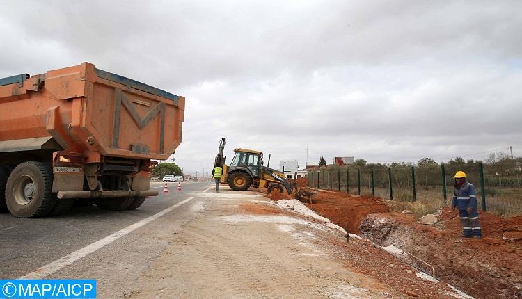 Fès-Meknès: 1,1 MMDH pour la réalisation des pistes et des routes rurales