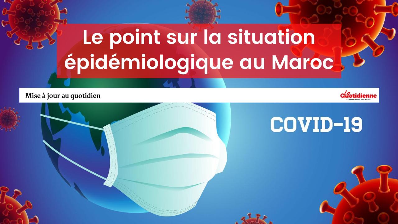 Covid-19 / Maroc : Le nombre de nouvelles contaminations en légère baisse