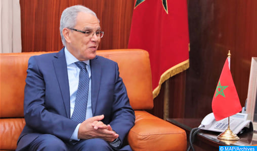 Maroc-Royaume-Uni : Abdeltif Loudyi s'entretient à Rabat avec John Lorimer, Général de Corps d'Armée britannique