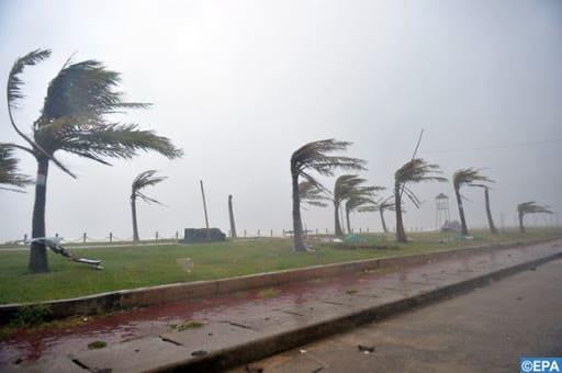 Casablanca/Anfa : Deux maisons endommagées à cause des fortes rafales de vent