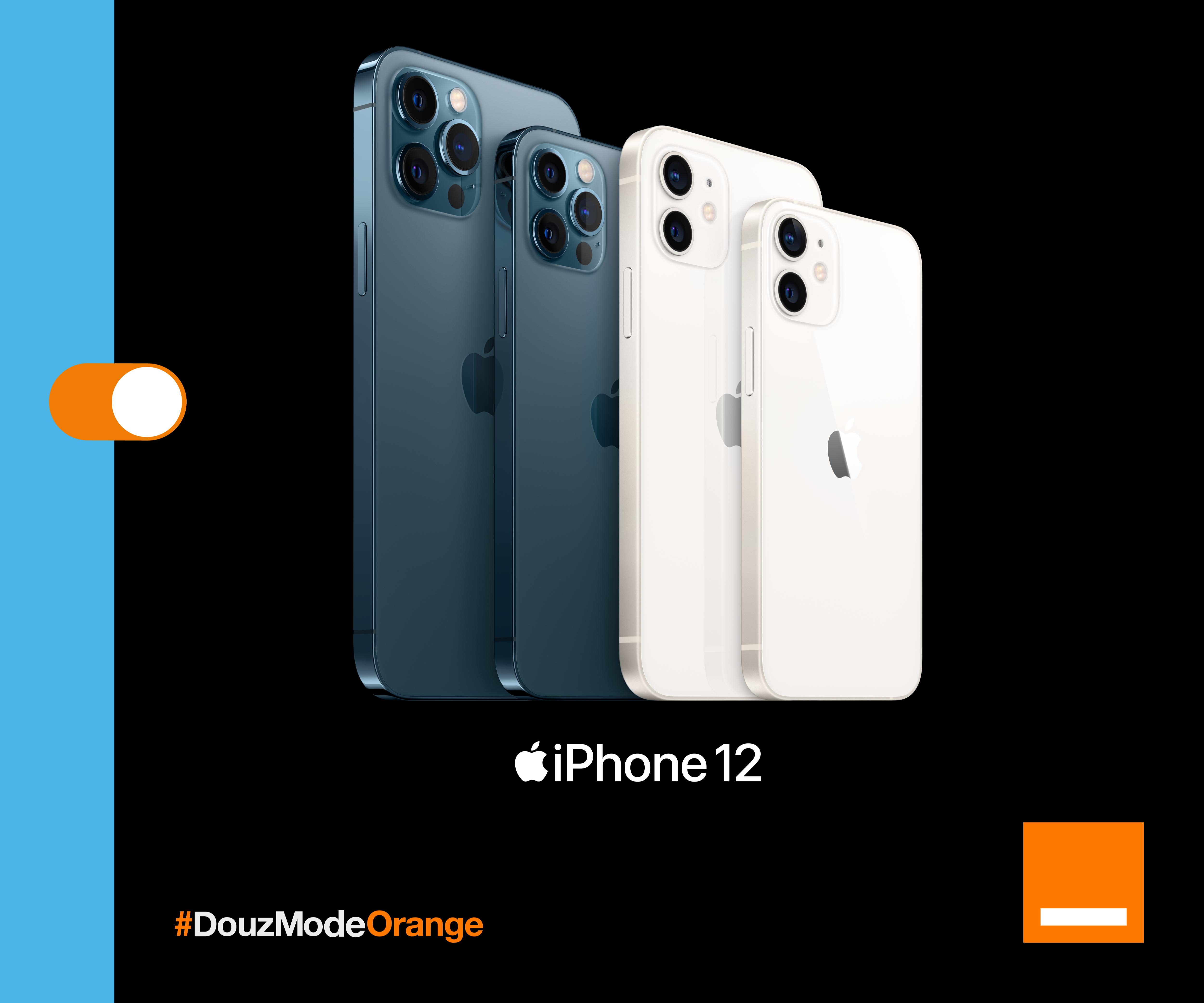 Orange Maroc lance la nouvelle gamme d'iPhone 12