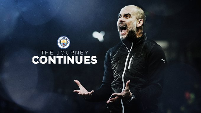 Football : Pep Guardiola prolonge à Manchester City jusqu'en 2023