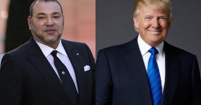Entretien téléphonique entre le Roi et Trump: Les USA reconnaissent la Souveraineté du Royaume sur le Sahara marocain