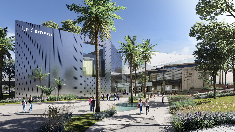 IMKAN confie la construction du mall du Carrousel à Bymaro