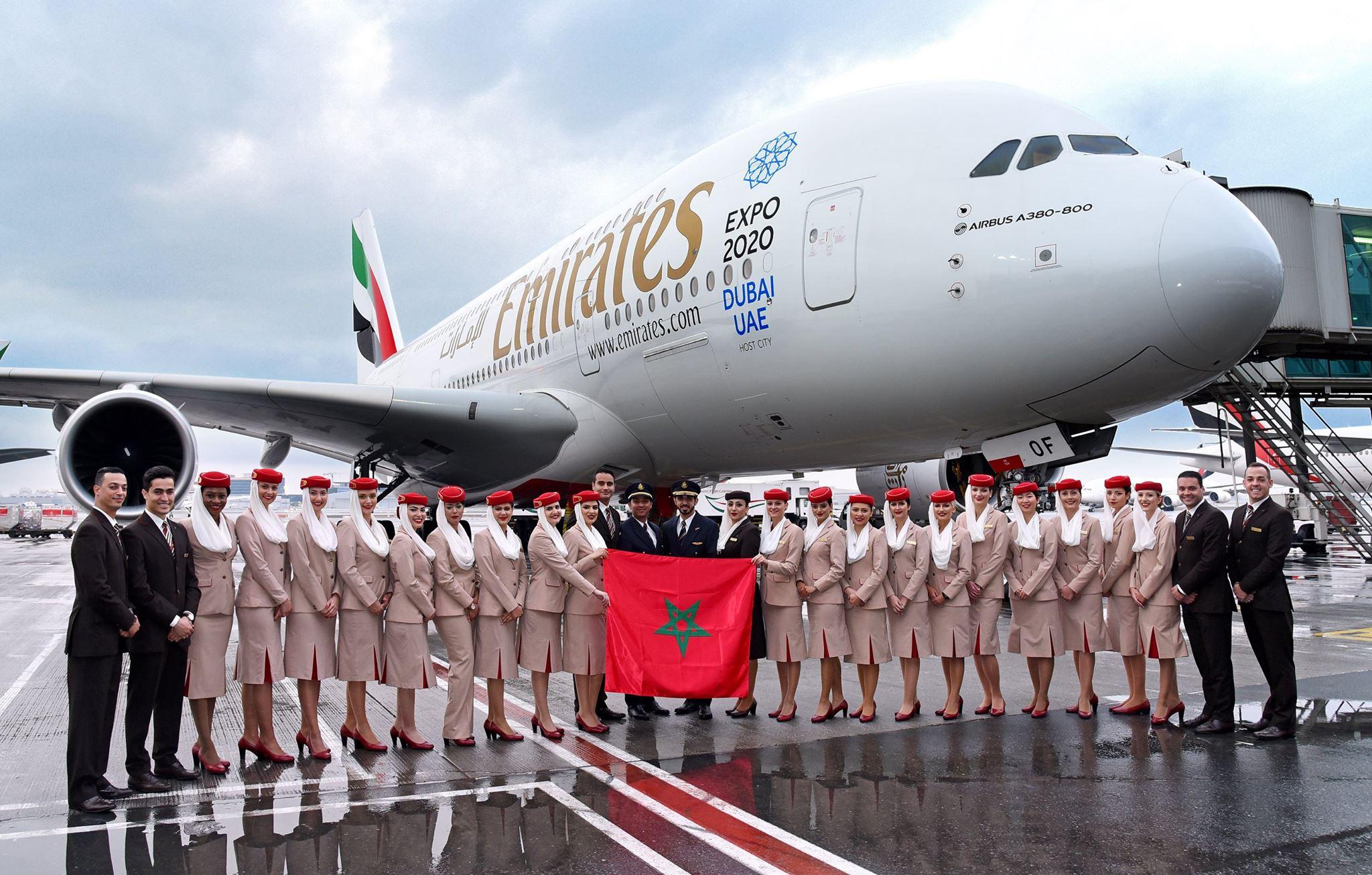 Transport aérien : Emirates renforce ses vols vers Casablanca