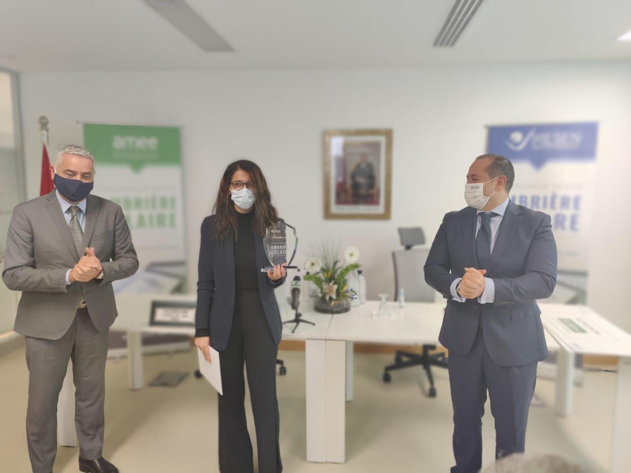Mobilité durable: L'IRESEN et l'AMEE décernent les prix du concours de design d'ombrières solaires