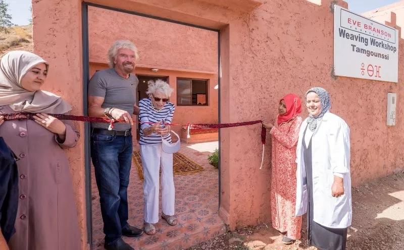 Eve Branson, mère du milliardaire Richard Branson, décède de la Covid-19