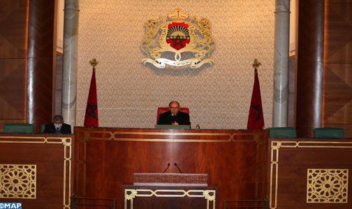 Chambre des conseillers : Adoption de 37 textes législatifs durant la session d'octobre