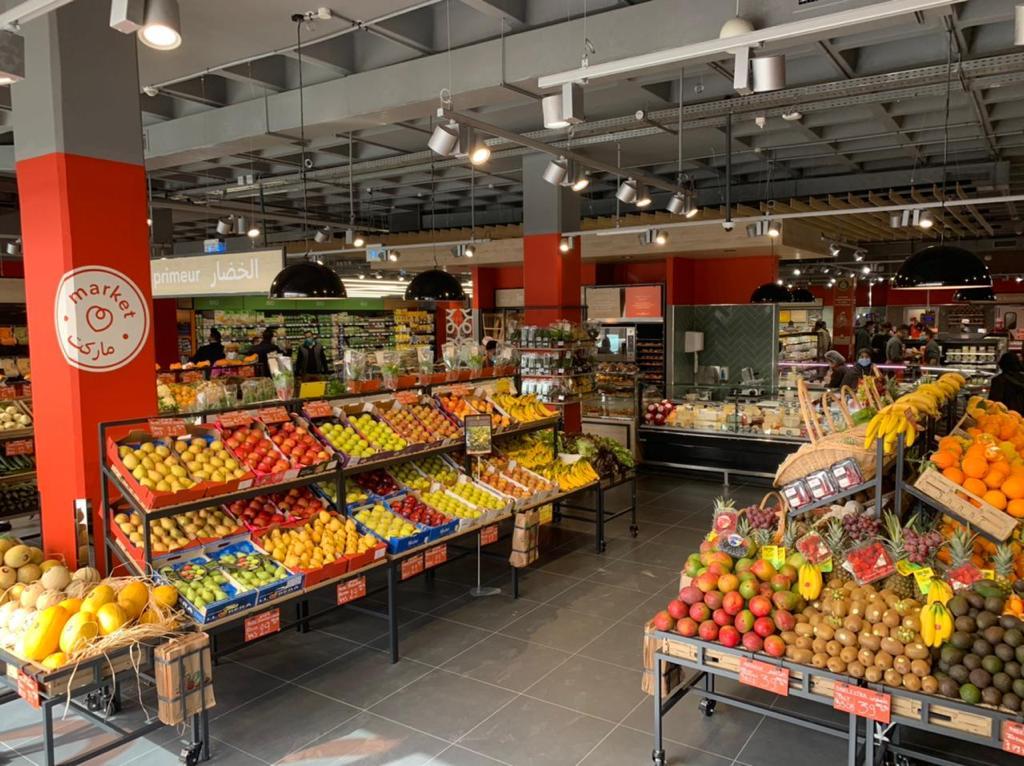 Ouverture  d'un nouveau Marjane Market à Dar Bouazza
