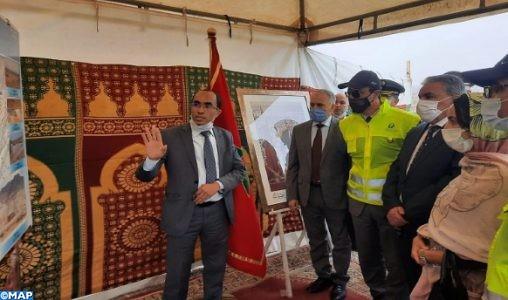 Amara s'enquiert de l'avancement des projets hydrauliques et de la voie express Tiznit-Dakhla