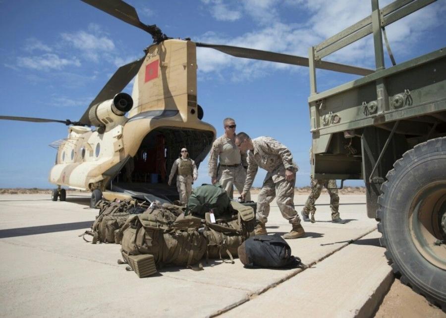 """Agadir: Lancement de l'exercice combiné maroco-américain """"African Lion 2021"""""""