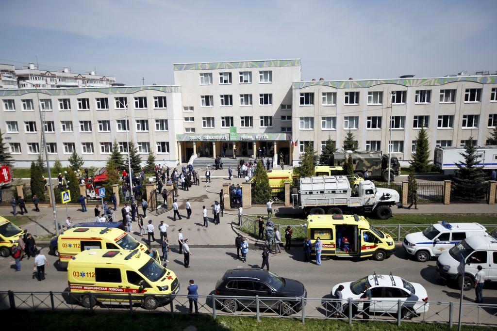 Russie : Une fusillade à l'université de Perm fait au moins 8 morts