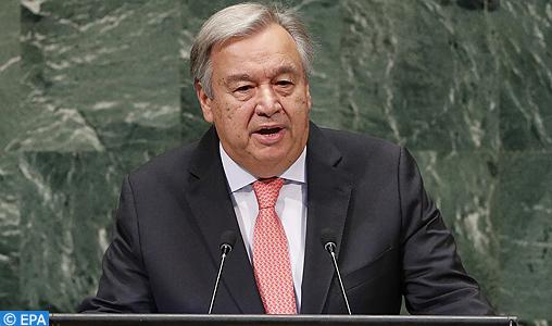 Guterres confirme l'absence de tout statut du « polisario » auprès de l'ONU
